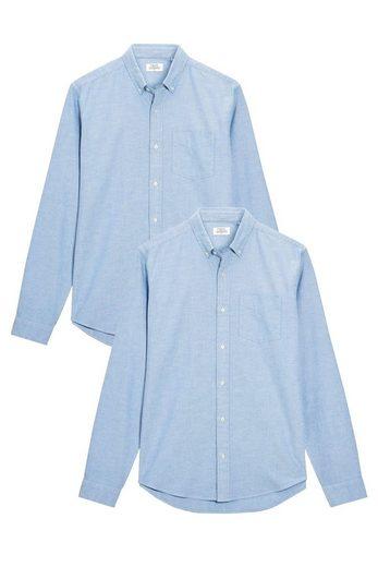 Next Oxford-Hemden, 2er-Pack 2 teilig