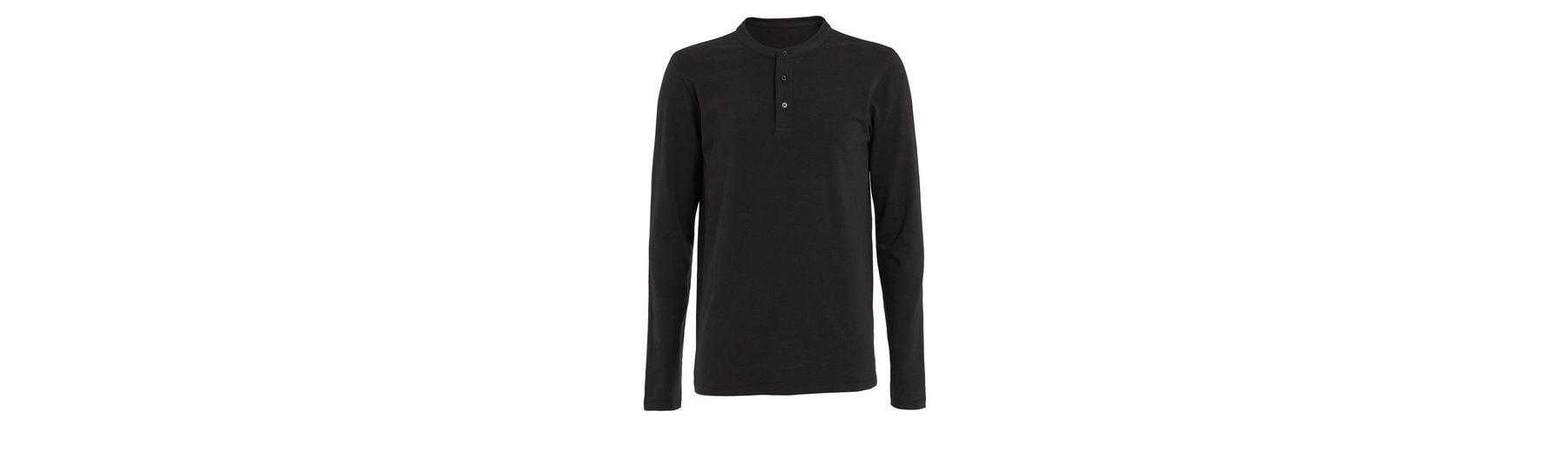 Next Muscle-Fit Grandad-Shirt mit langen Ärmeln Beliebt Günstiger Preis Großhandelspreis Von Freiem Verschiffen Des Porzellans Sast Günstiger Preis gd44RyGE0S