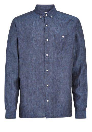 Next Langärmeliges Hemd aus reinem Leinen