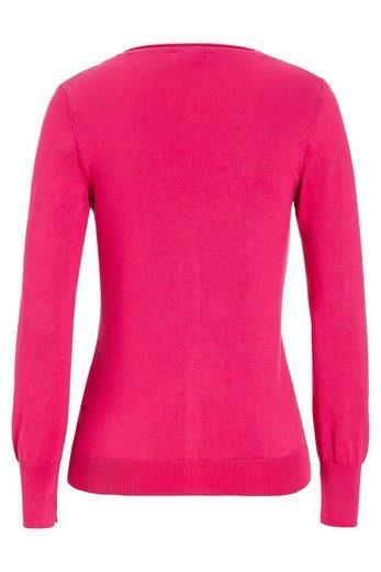 MORE&MORE Basic Cardigan, pink