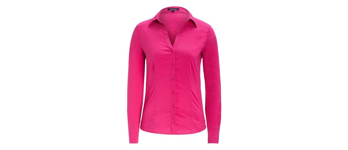 MORE&MORE Businessbluse, pink