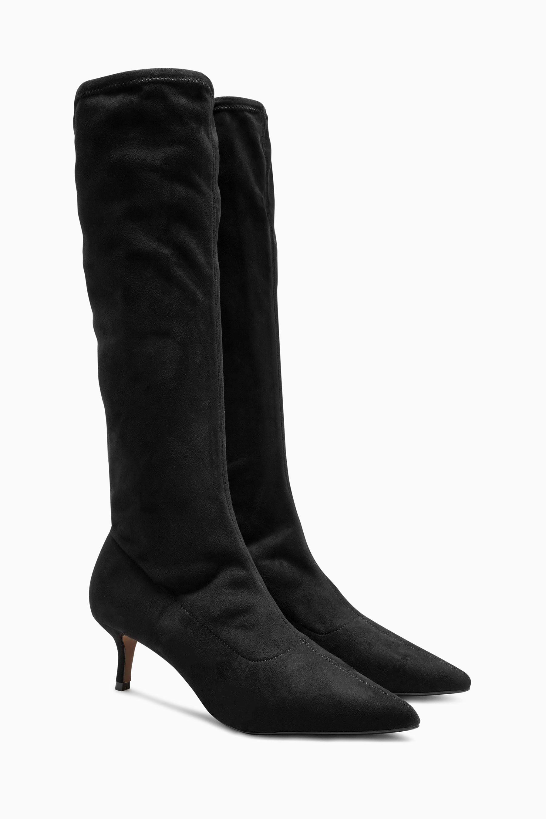 Next Kniehohe Sock-Boots online kaufen  Black