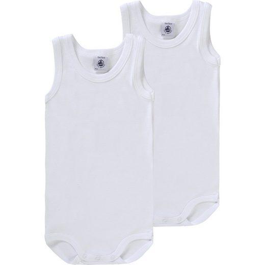 Petit Bateau Baby Bodys Doppelpack