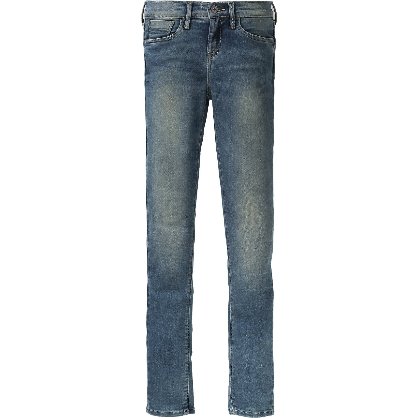 Damen,  Mädchen,  Kinder Pepe Jeans Jeans PIXLETTE Skinny Fit für Mädchen blau, grau, rosa | 08434030393368