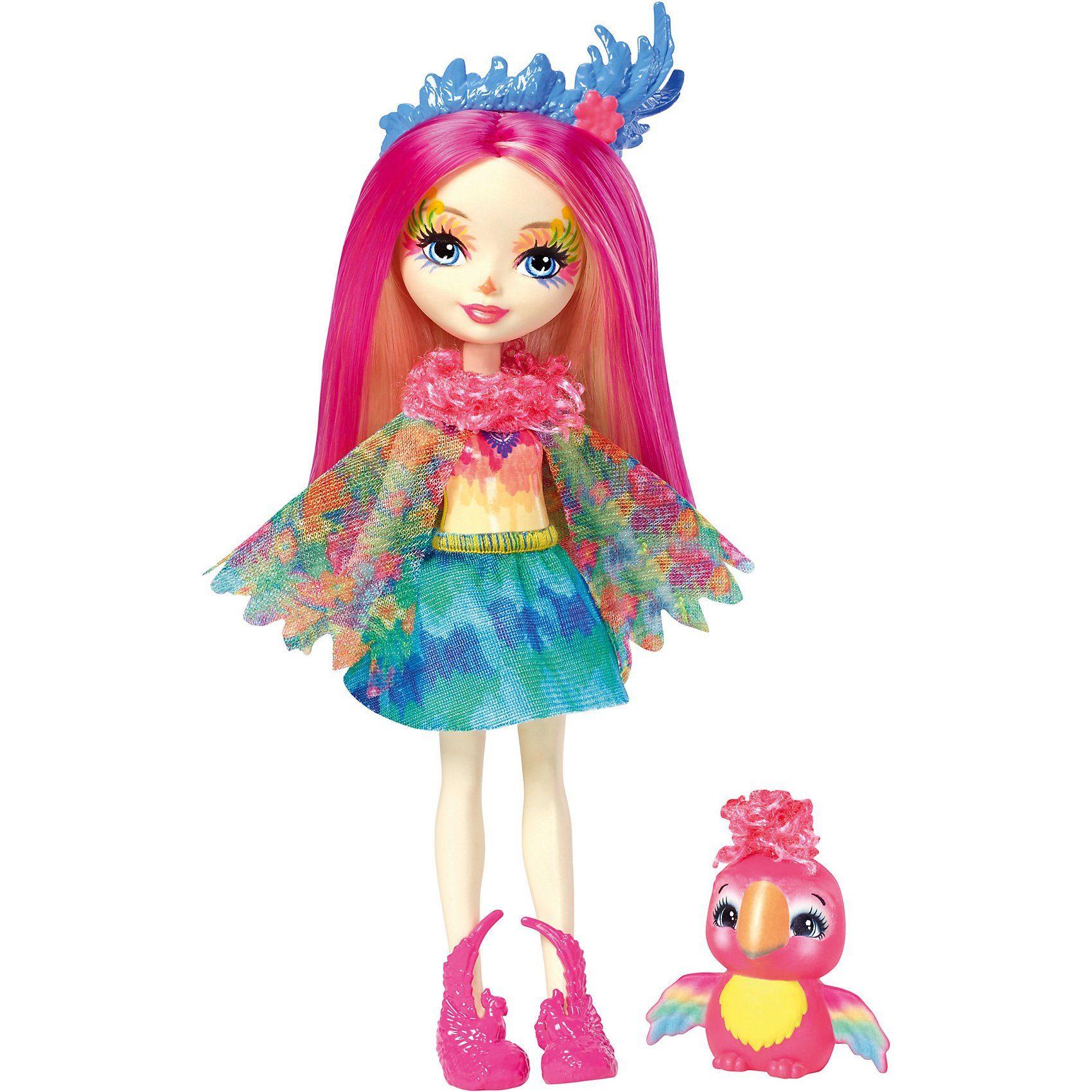 Mattel® Enchantimals Papageienmädchen Peeki Parrot Puppe