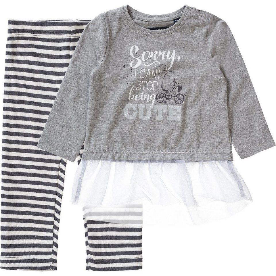 blue seven baby set langarmshirt leggings f r m dchen online kaufen otto. Black Bedroom Furniture Sets. Home Design Ideas