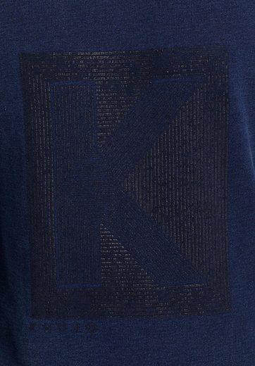 außenliegenden »WAYNE« Sweatshirt mit khujo Nähten RwatqAxt5