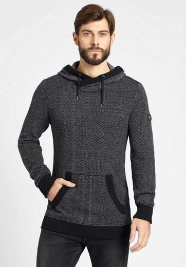khujo Strickpullover PRAISE, in Melange-Optik