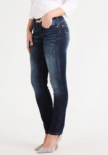 Gin Tonic 5-Pocket-Jeans SLIM FIT dark wash, Lift-Effekt