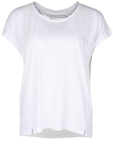 Better Rich T-Shirt WIDE PAILLETTE, Pailletten