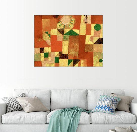 Posterlounge Wandbild - Paul Klee »Sonnengold«