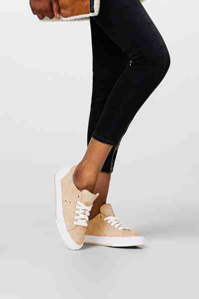 ESPRIT CASUAL Maritimer Sneaker aus veganer Produktion