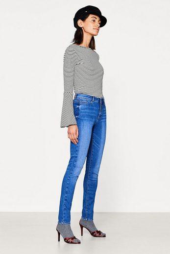 ESPRIT Used-Look-Jeans aus Super-Stretch