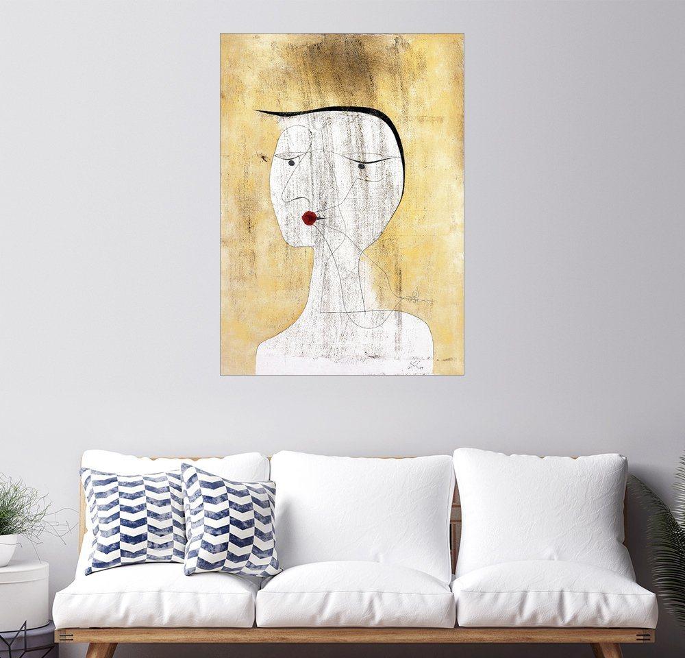Posterlounge Wandbild - Paul Klee »Versiegelte Dame«