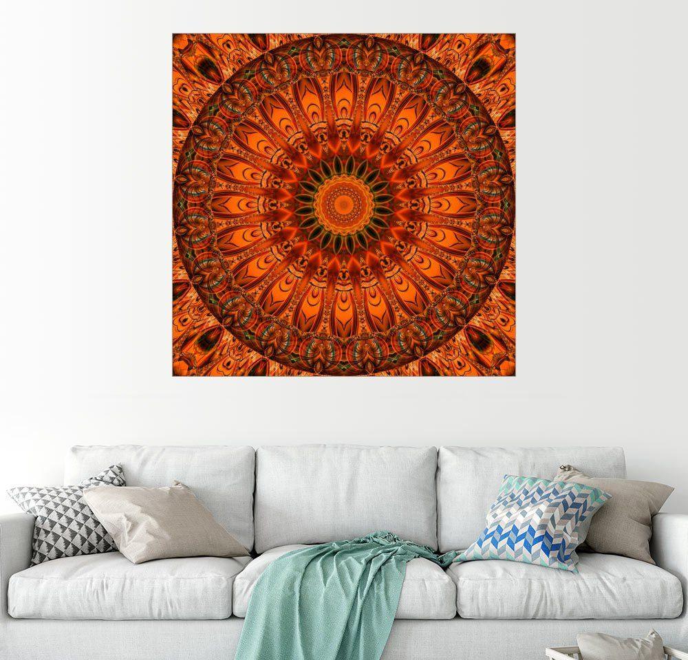 Posterlounge Wandbild - Christine Bässler »Mandala Ich fühle mich gut«