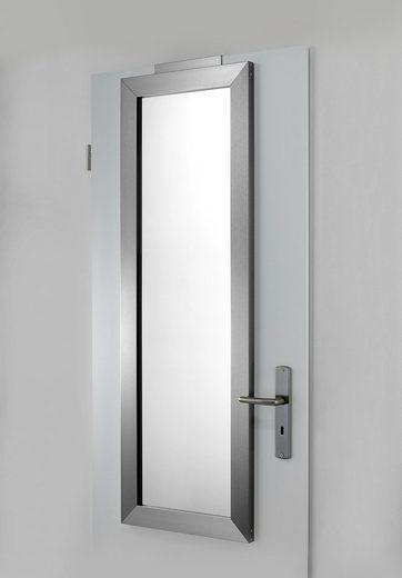 Spiegel einfach über die Tür hängen