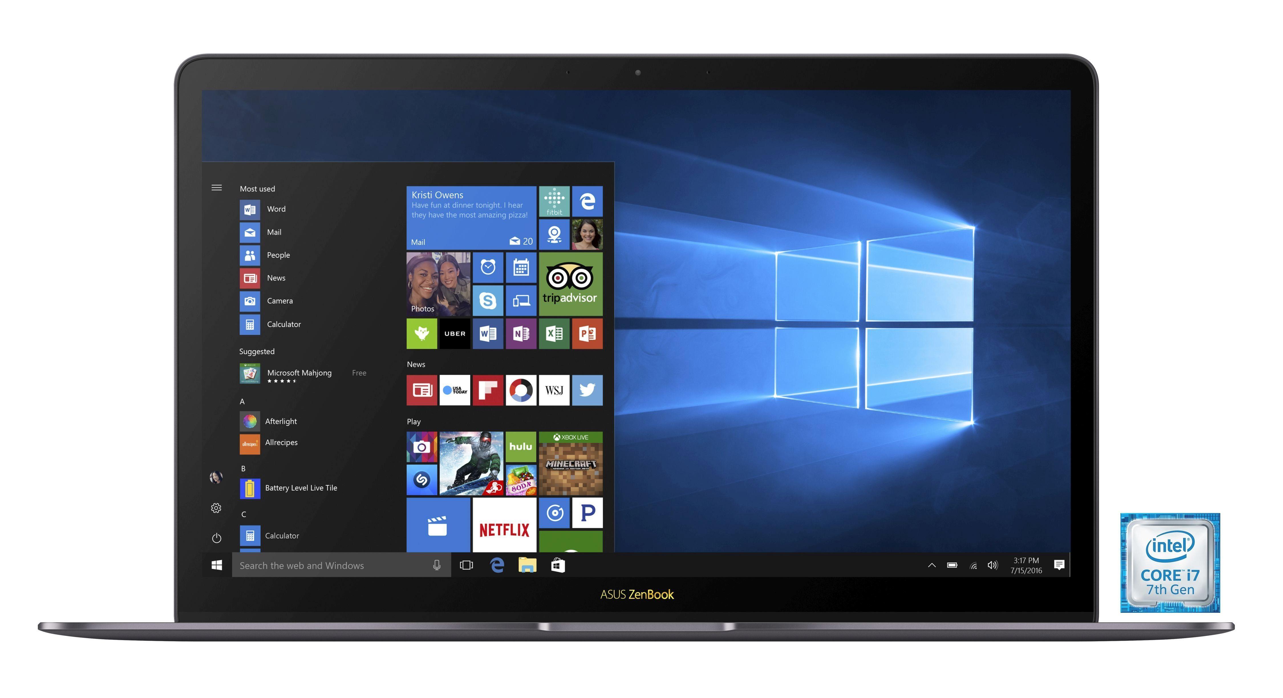 "ASUS ZenBook 3 Deluxe (90NB0EI3-M02020) »Intel Core i7, 35,56 cm (14"")512 GB SSD, 16 GB«"