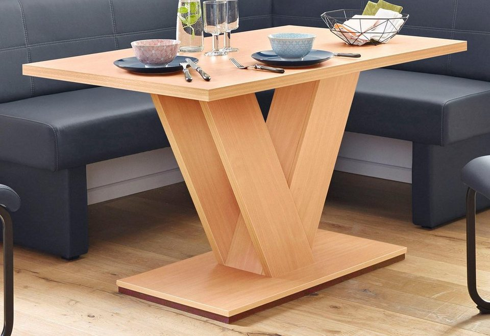 esstisch breite 130 cm oder 160 cm online kaufen otto. Black Bedroom Furniture Sets. Home Design Ideas