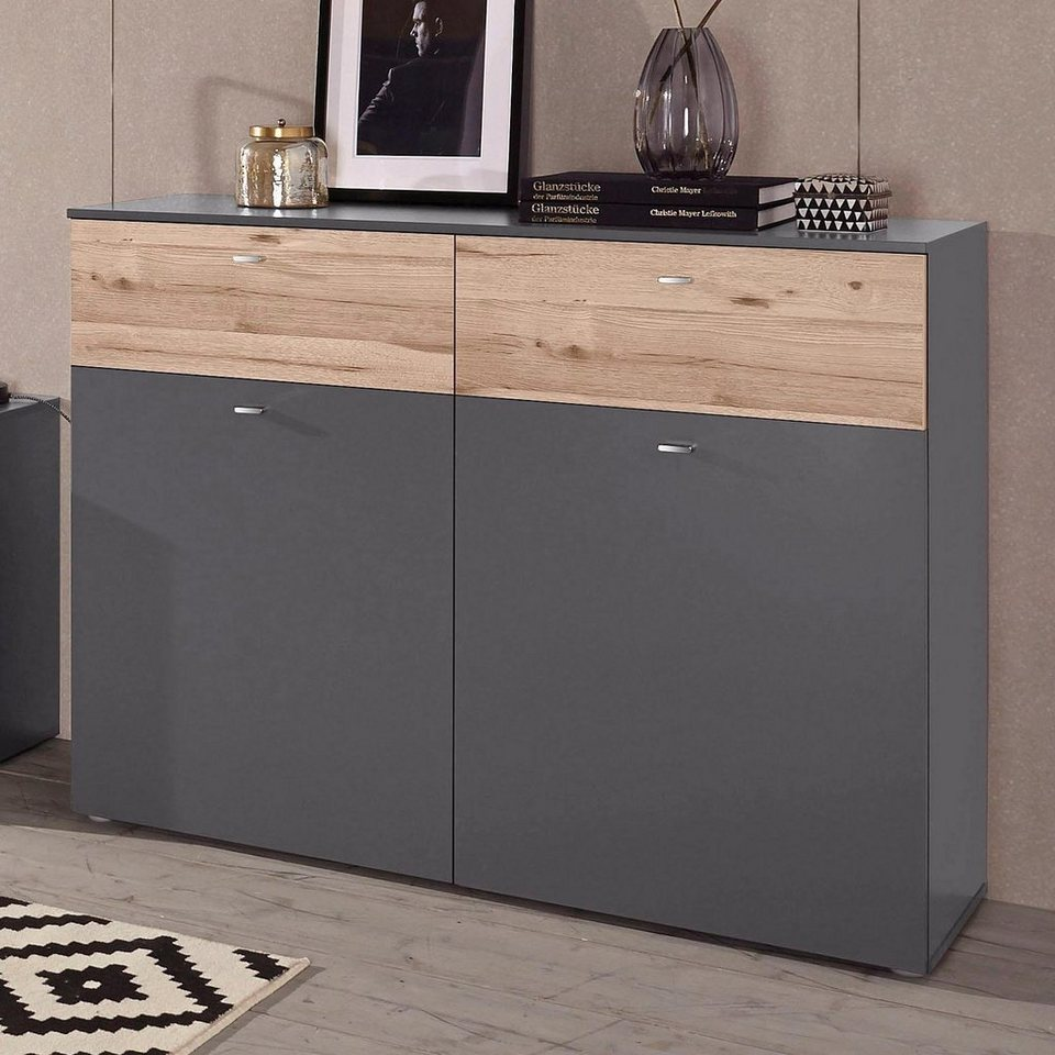 forte kommode breite 120 cm online kaufen otto. Black Bedroom Furniture Sets. Home Design Ideas