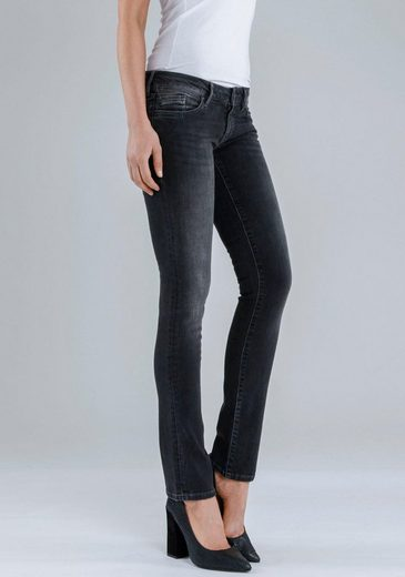 Mavi Jeans Straight-Jeans JULIA, mit leichter Waschung
