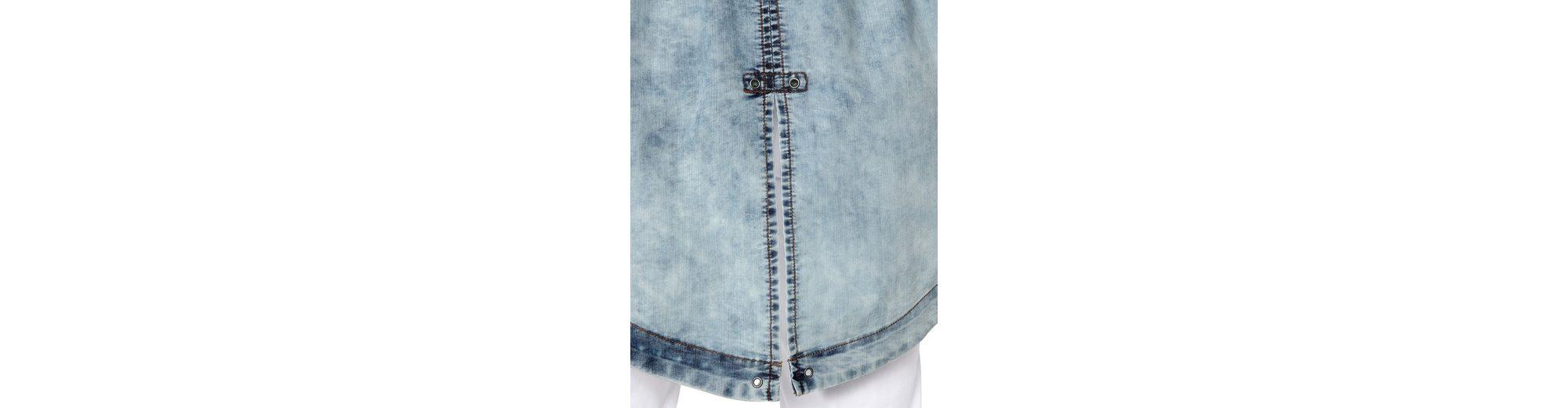 Viele Arten Von Online MIAMODA Jeansjacke im modischen Parka-Style Speicher Mit Großem Rabatt Beliebt KRU8nmPMIK