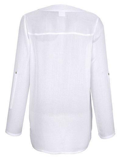 Alba Moda Bluse für den perfekten Layering-Look