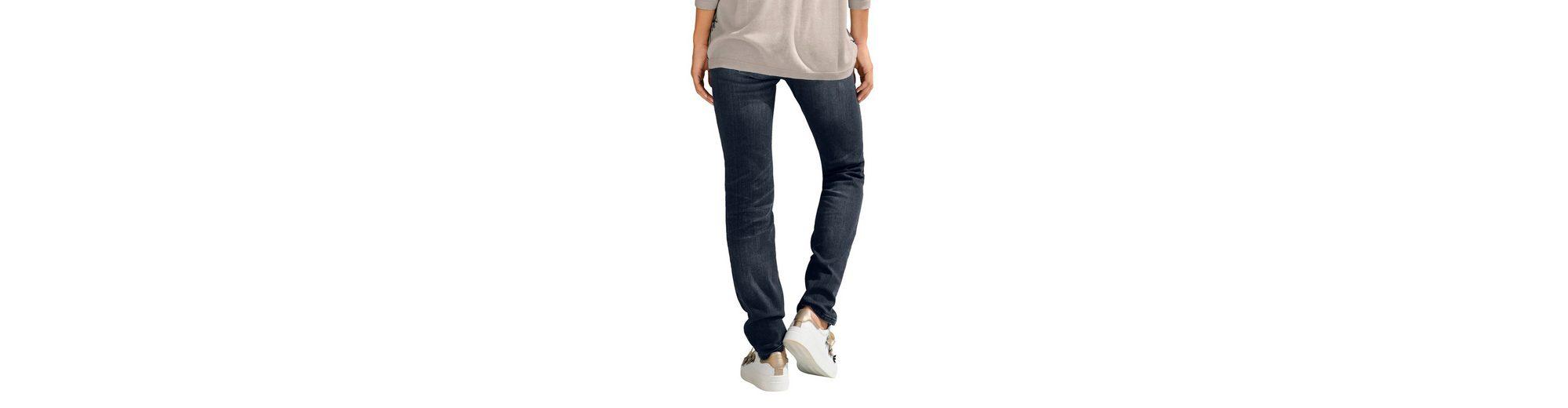 Alba Moda Jeans mit exklusiver Schmuckapplikatiion Kostenloser Versand Günstig Kaufen Ausgezeichnet Suchen Sie Nach Verkauf Rabatt Niedrigen Preis Versandgebühr we4XPcyCcc