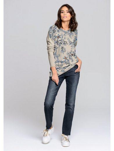 Alba Moda Jeans Schmuckapplikatiion With Exclusive