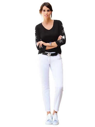 Alba Moda Hose in sommerlicher Chino-Qualität