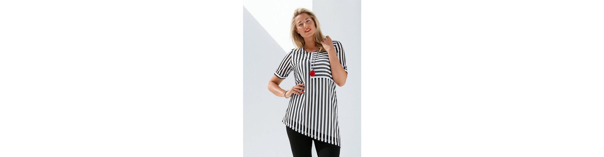 MIAMODA Shirt in Streifen-Optik Verkauf Hochwertige Preiswerte Neue Billig Perfekt Mit Dem Verkauf Kreditkarte Online haQurvM