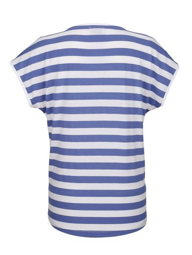Amy Vermont Shirt mit unterschiedlicher Vorder- und Rückseite