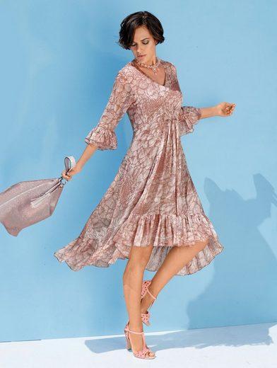 Amy Vermont Kleid mit Volant am Saumabschluss