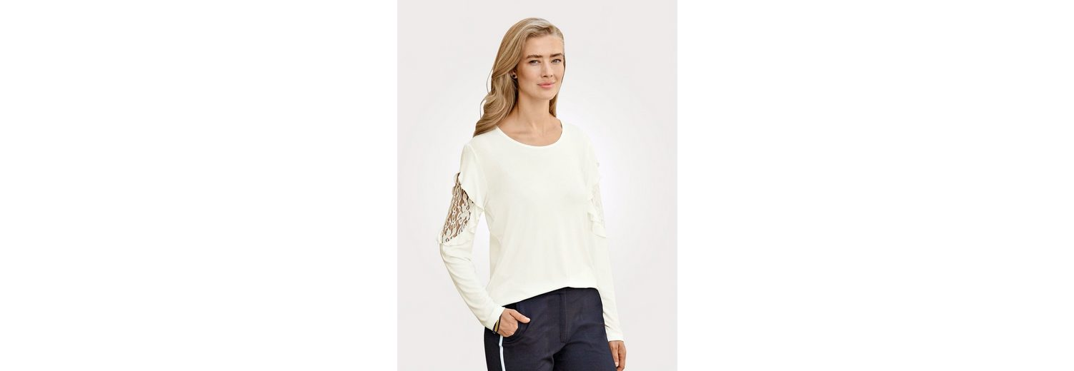 Shirt mit Mona Shirt mit Spitzen Mona Spitzen mit Einsatz Spitzen Shirt Einsatz Mona vqXz1v