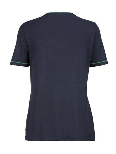 Mona Shirt mit Netz-Qualität