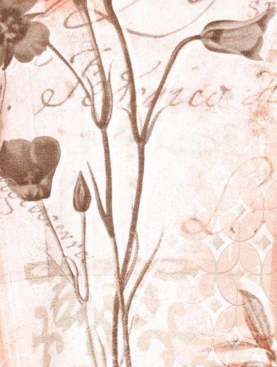 Mona Shirt mit platziertem Blumenmotiv