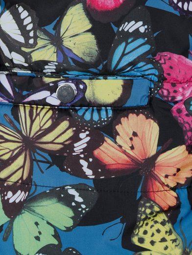 Mona Steppjacke mit Schmetterlingsdruck