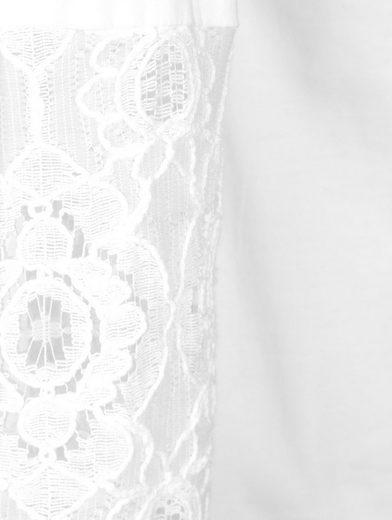 Mona Bluse mit floraler Spitze