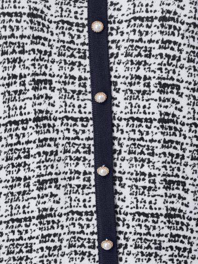 Mona Pullover mit Zierknopfleiste