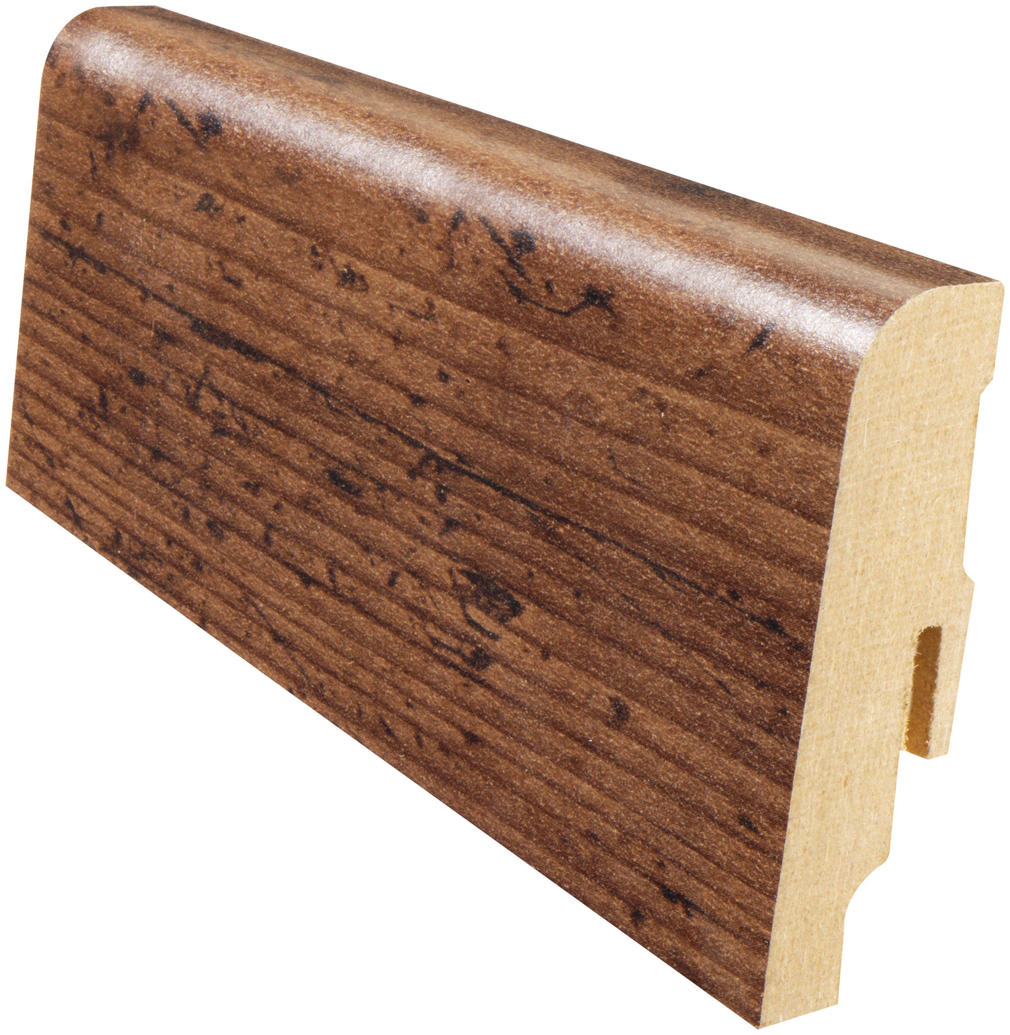 MODERNA Sockelleiste »Akzentfussleiste AFL 60 - Heritage Eiche«, 1 Stk., Höhe: 6 cm