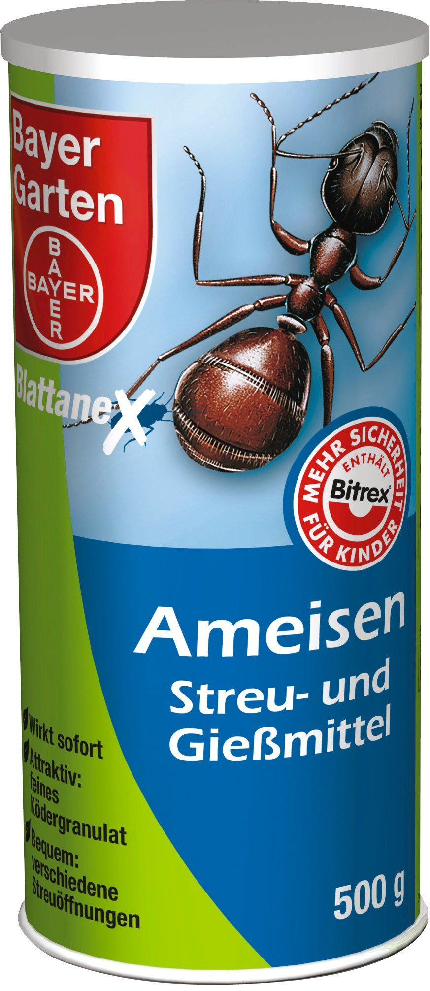 BAYER GARTEN Haushaltsinsektizide »Ameisen Streu- und Gießmittel«, 500 g