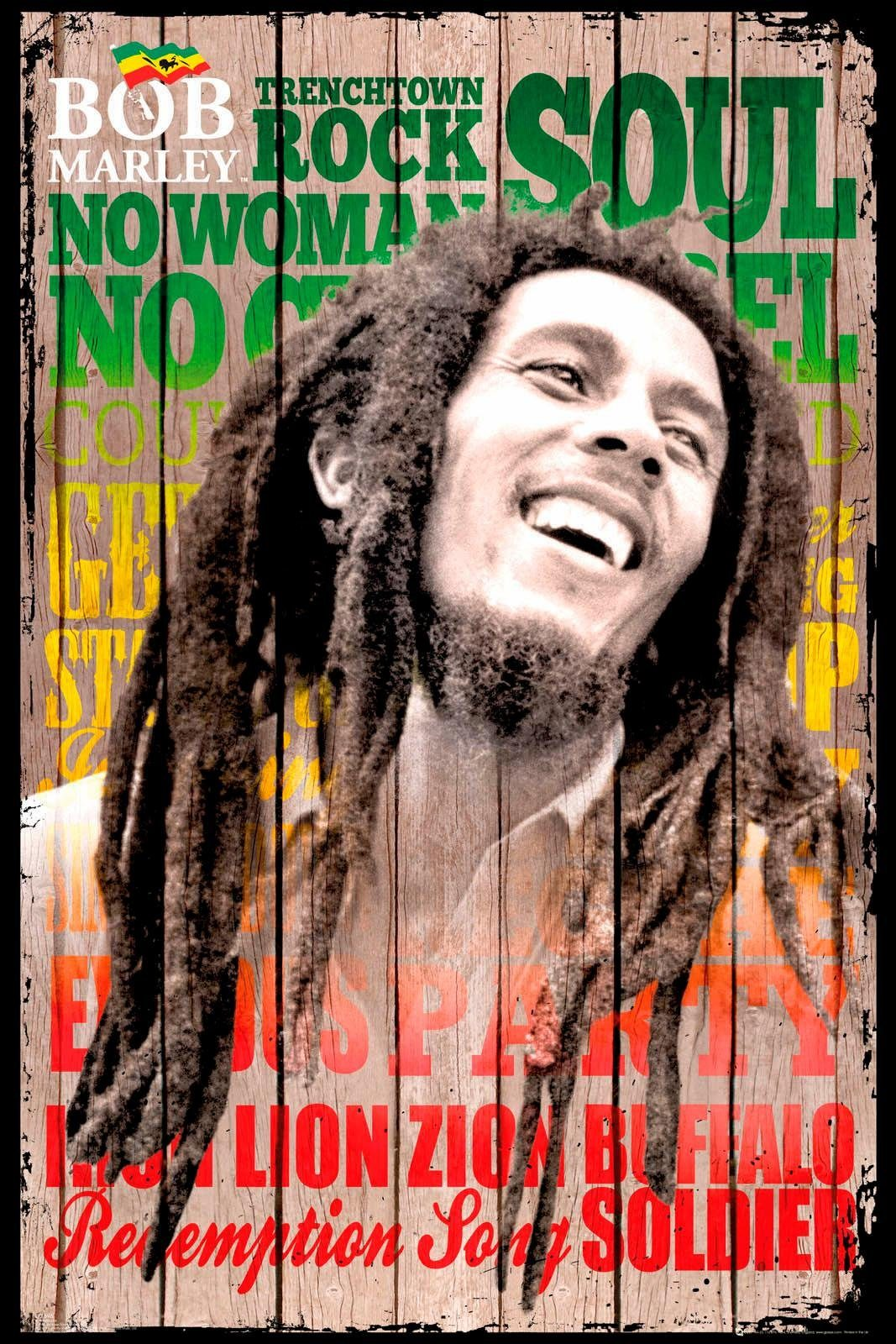 Deco-Panel »Bob Marley«, Mann, 60/90 cm