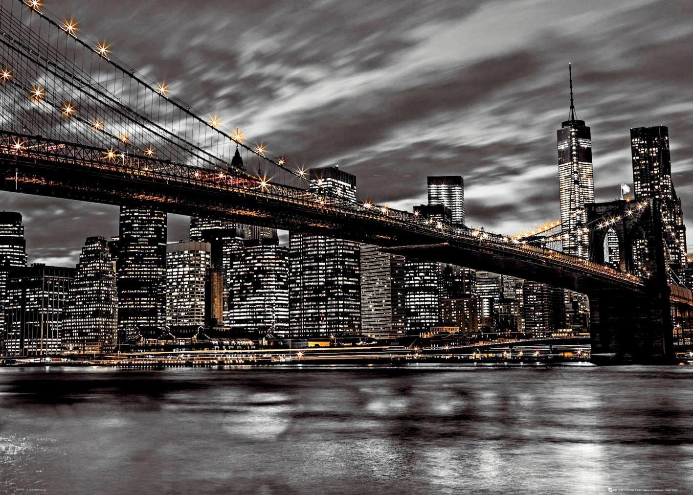 Deco-Panel »New York«, Stadt, 140/100 cm