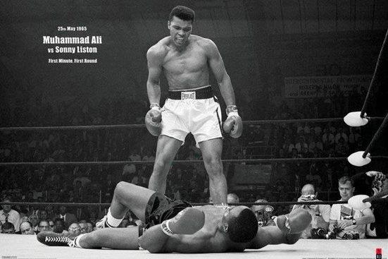 Deco-Panel »Muhammad Ali«, 90/60 cm