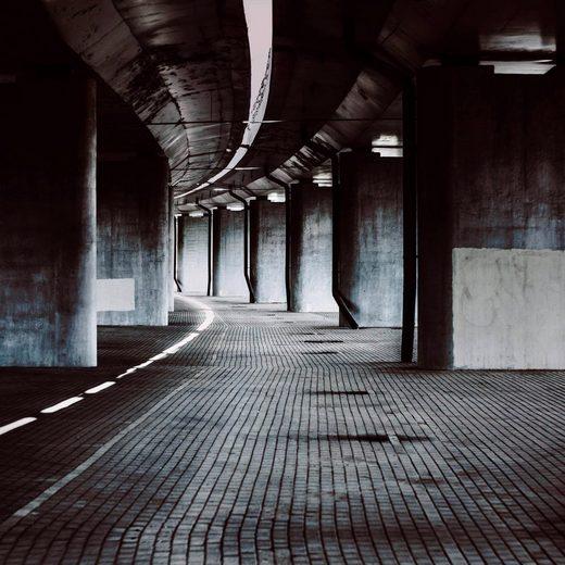Leinwandbild »Gebäude Kunst«, 100/100 cm