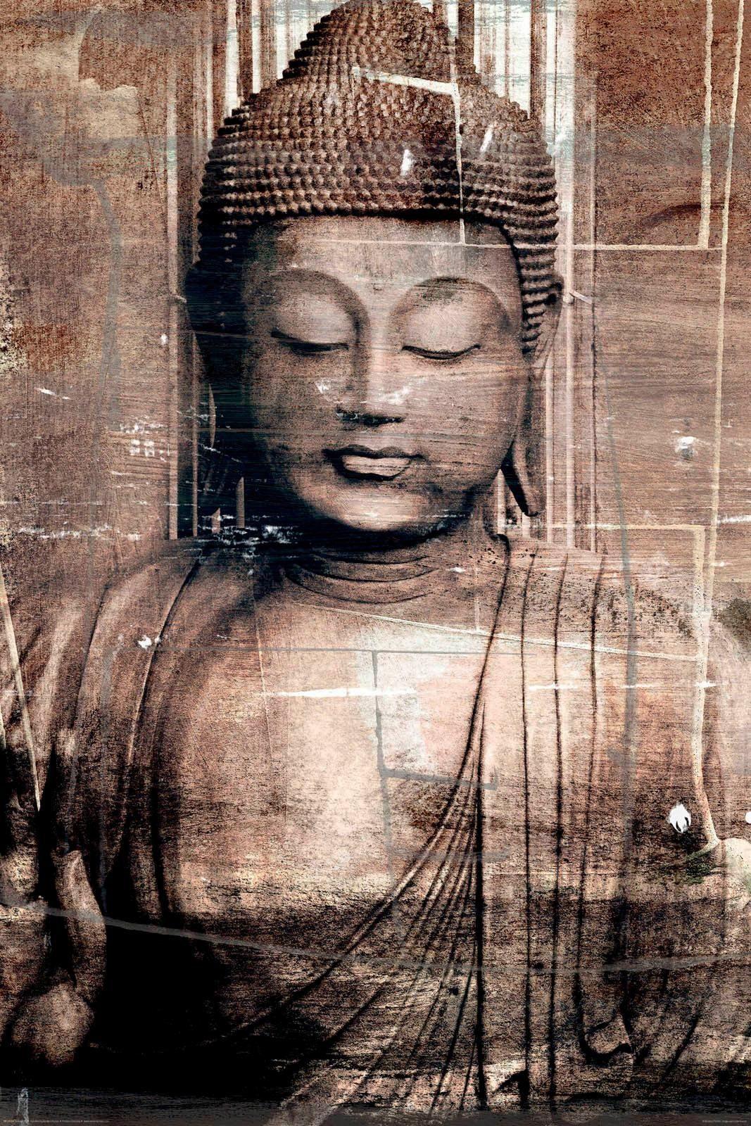 Deco Panel »Buddha« 60/90 cm