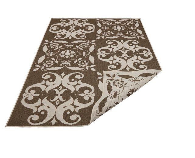 Teppich »Amadora«, Guido Maria Kretschmer Home&Living, rechteckig, Höhe 5 mm, In- und Outdoor geeignet, Wendeteppich