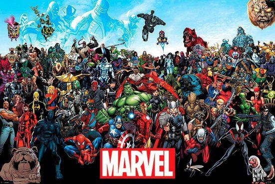 Deco-Panel »Marvel«, 90/60 cm