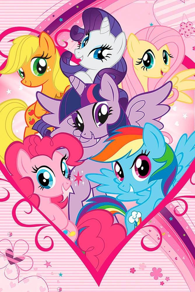 Deco Panel »My Little Pony« 60/90 cm
