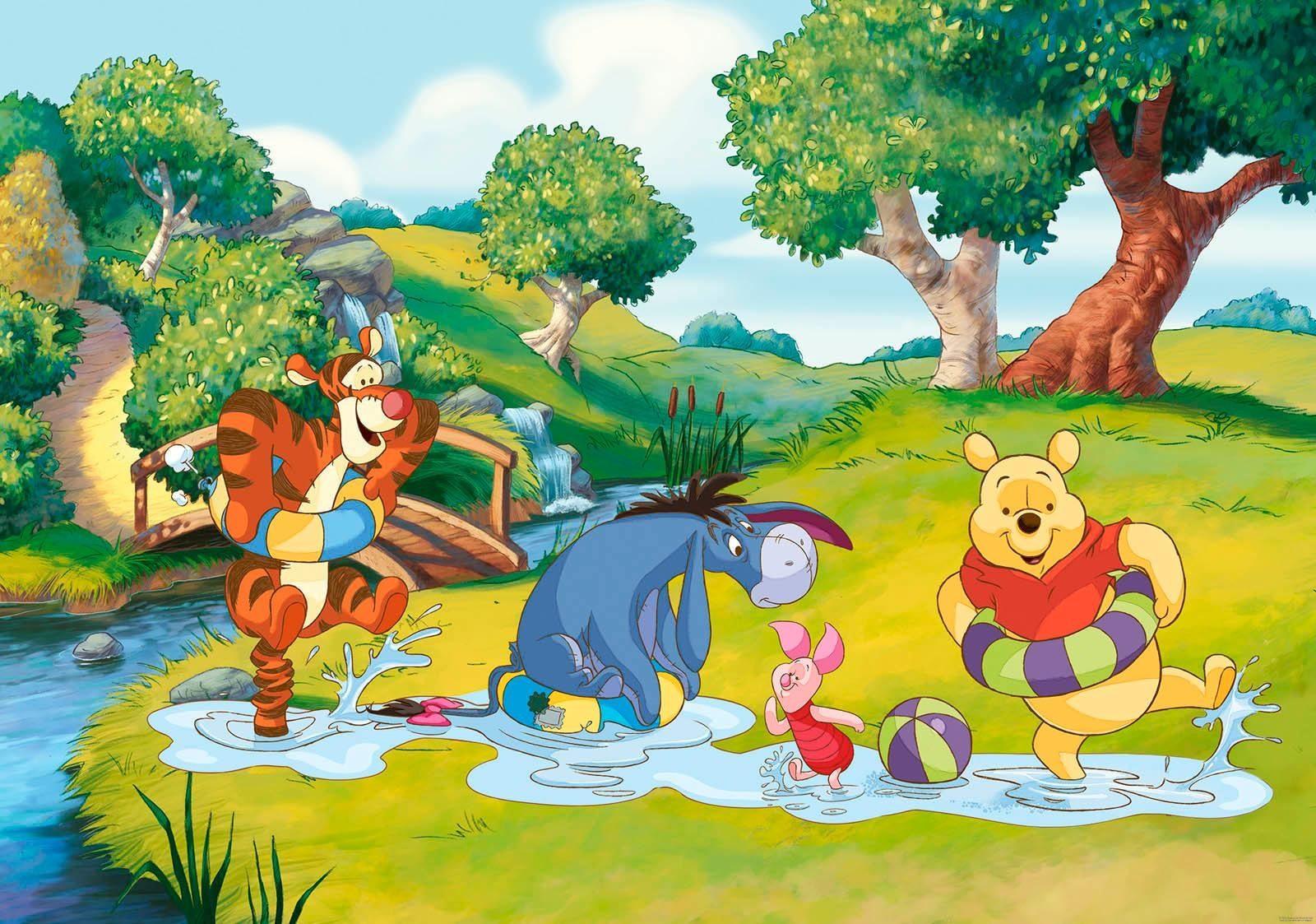 Fototapete »Winnie the Pooh« 254/184 cm