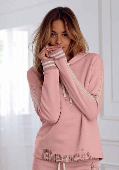 Adidas Damen Strick Pullover Strickkleid Pulli Streifen pink